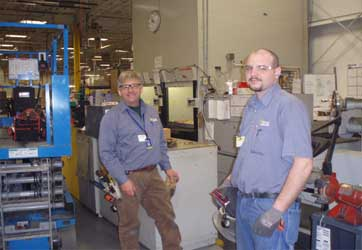 Wiring of parts sorter machine by Gray Electric of Mauston and Tomah WI